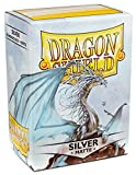 Best Baseball Cards In The Worlds - Arcane Tinman AT-11008 Sleeves: Dragon Shield Matte Silver Review