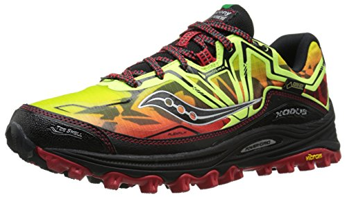 Saucony Herren Xodus 6.0 Gtx Trainingsschuhe Multicolore (Citron/Red/Noir Pa)