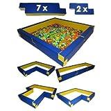 Multi- BällebadPool Schaumstoff Pool für Bällebad Kugelbad Multi-Pool