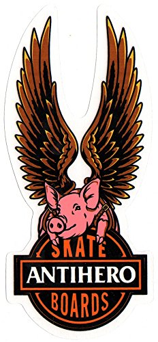 Anti Hero - Free Schwein Skateboard Aufkleber Sticker Neu - Anti Hero skate - 18cm hoch ca. -