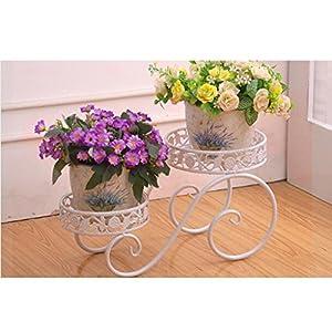 que es el posicionamiento web: JXXQD Soporte de Flores Europeo de Hierro Forjado Soporte de Flores de múltiples...