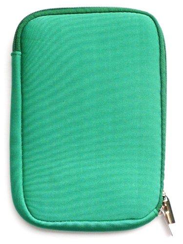 Emartbuy® Grün Wasserabweisende Weiche Neopren Hülle Schutzhülle Sleeve Case mit Reißverschluss geeignet für Msi Windpad 100W Tablet (10-11 Zoll eReader/Tablet / Netbook)