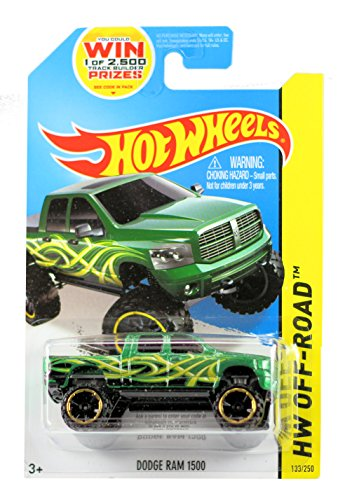 hot-wheels-164-diecast-model-dodge-ram-1500-133-hot-wheels-off-road