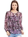 Wisstler Purple Full Sleeve Poly Geogret...