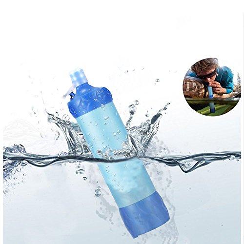 OOFAY Persönlicher Wasserfilter Für Wandern Outdoor-Reisen Notfallbereitschaft Entfernt 99,99% Bakterien Mini Filtration System
