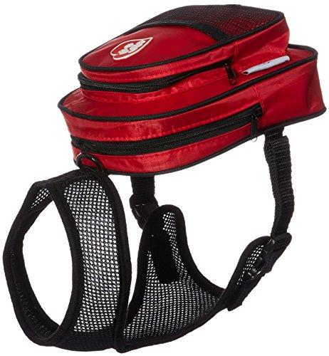 Artikelbild: SarahTom Bluetooth Pet Rucksack für Hunde, rot