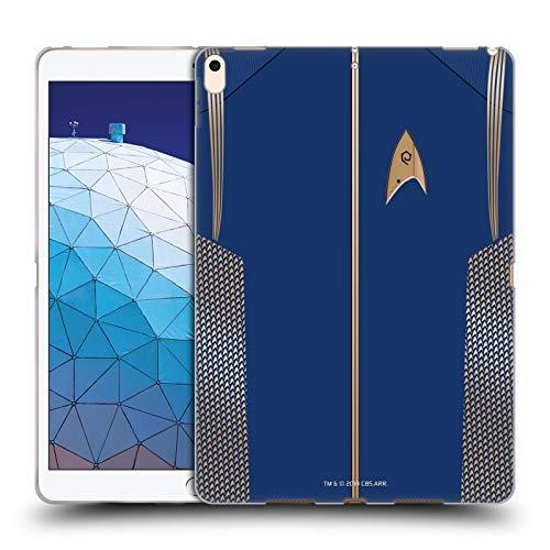 Head Case Designs Offizielle Star Trek Discovery Korvettenkapitän Uniformen Soft Gel Huelle kompatibel mit iPad Air (2019) (Trek 2019 Star Uniform)