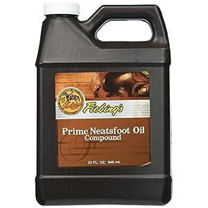 Fiebing's Prime Neatsfoot Lederpflegespülung, Öl-Mischung, Größe: ca. 90 ml