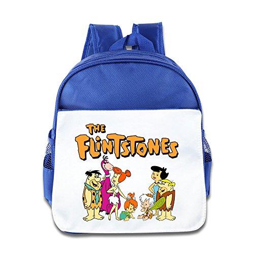 Die Flintstones Babys Schule Mini Klein Rucksack Blau Königsblau Einheitsgröße