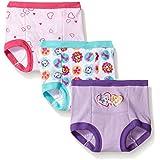 Nickelodeon Toddler Girls' Paw Patrol 3pk Training Pant, Paw Multi, 4T