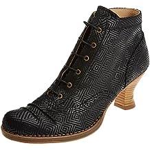 Neosens Damen S608 Suave Black/Rococo Kurzschaft Stiefel, Schwarz (Black), 38 EU