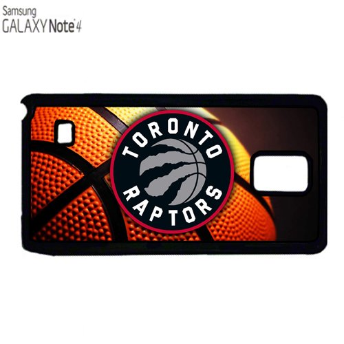 Schutzhülle für Samsung Note 4, Kunststoff, Motiv Raptors Basketball Toronto (Raptor Kunststoffe)