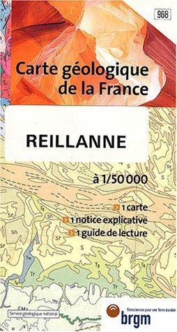 Carte géologique : Reillanne