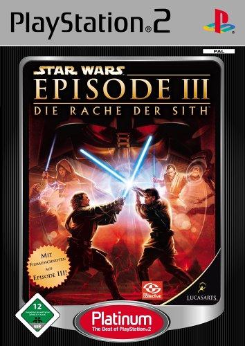 Star Wars Episode 3 - Die Rache der Sith [Platinum] (Wars Spiele Star Ps2)