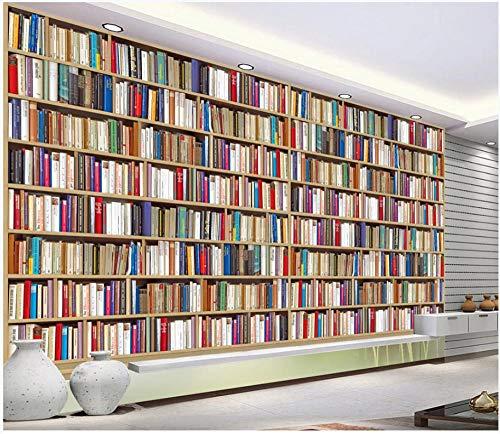 Fototapete Bücherregal Bücherregal Fototapeten Vlies Wand tapete Wohnzimmer Schlafzimmer Büro...