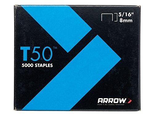 """Arrow–de 5000agrafes T508mm (5/16"""") (4x 1250)"""