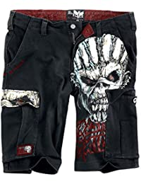 Iron Maiden EMP Signature Collection Pantalones cortos Negro