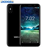 Smartphone ohne Vertrag,DOOGEE X55 2018 3G Smartphone Dual SIM 5.5 Zoll Android 7.1 Mobile 1GB RAM + 16GB ROM 2800mAh Akku Seitlicher Fingerabdruck 3G Phone Portable GPS WiFi Günstige Handy (Schwarz)