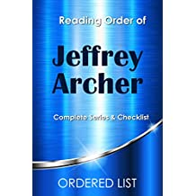Jeffrey Archer Books Checklist and Reading Order: Clifton Chronicles in Order (English Edition)