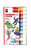 Marabu Kids 0306000000100 - Window Color Sortierung, 10 x 25 ml
