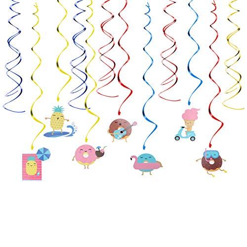 ty Windung Ornament Spirale Hängende Dekoration Hängende Tropfen Sets für Sommer Party Dekoration ()