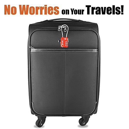 Par de Candados de seguridad para equipajes BV