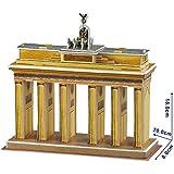 NiXiM 3D puzzle Puerta de Brandenburgo 20 cm de largo - modelo de arquitectura