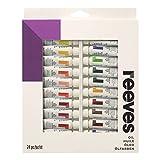 Reeves - Pintura al óleo 10 ml, colores surtidos - Paquete de 24