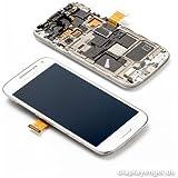 Samsung Galaxy S4 Mini GT-i9195 Display Touchscreen Rahmen Weiß White Neu Original GH97-14766B