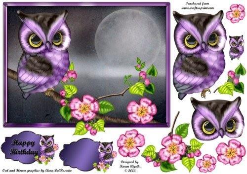 lavanda-owl-elegance-di-karen-wyeth