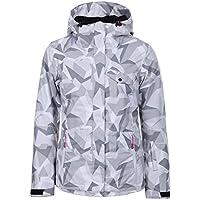 Ice Peak Kira–Chaqueta de esquí para mujer, Mujer, color plata, tamaño medium