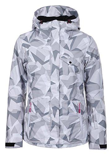 Skijacke XXL Silber ()