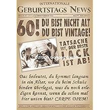 Schön Glückwunschkarte Zum 60. Geburtstag ~ Du Bist Nicht Alt, Du Bist Vintage
