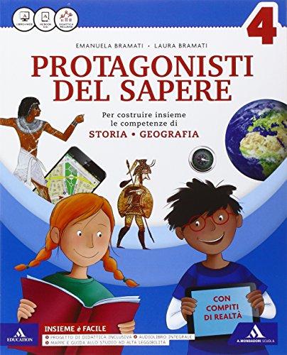 Protagonsiti del sapere. Sussidiario antropologico. Quaderno antropologico-Atlante antropologico. Per la Scuola elementare. Con e-book. Con espansione online: 1