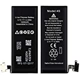 Screencart 100% New Replacement High Backup Compatilble Mobile Battery/Batteries for Apple iPhone 4s