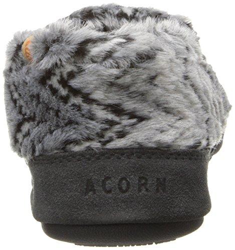 Acorn , Chaussons pour femme Grey Zig-Zag