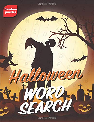 Halloween Word Search: Large Print Puzzle Book (Trick or Treat)