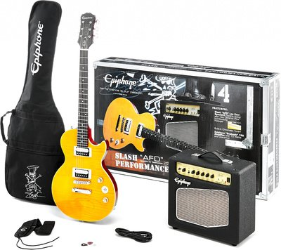 'Epiphone by Gibson Slash 'AFD Les Paul Special de II Performance Pack – Guitarra & Amplificador Set