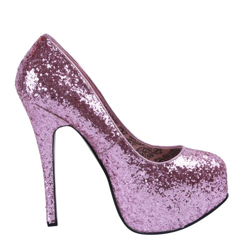 Bordello, Mary Jane basse donna B. Pink Glitter