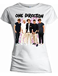 One Direction - Youth Girl-Shirt Flowers (in S)