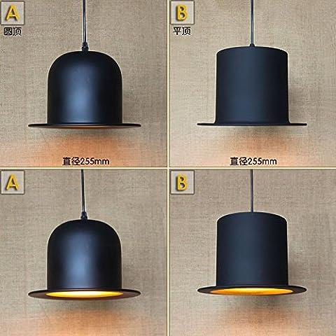 GNEW mininalist moderno abito creativo Hat ristorante Art Deco lampadario