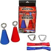 SLACKERS Cone Accessoire pour Ninja Line Mixte Enfant, Rouge/Bleu