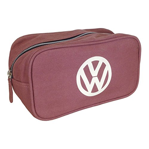 official-volkswagen-canvas-toiletry-wash-bag-red-with-vw-logo