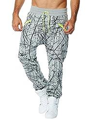Zumba Fitness Cosmic Harem Femme Thunderin Grey Heather FR : XL (Taille Fabricant : XL)