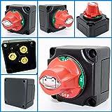 Cambiar con el interruptor para aislamiento de batería Fror doble pilas 4posiciones Durite 0–605–09