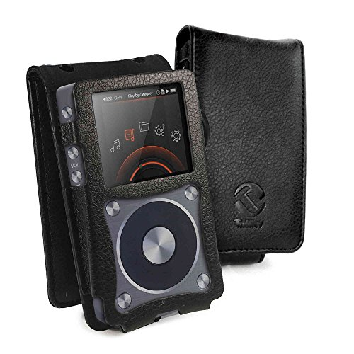 tuff-luv-faux-leather-case-cover-belt-clip-for-fiio-x5-2nd-gen-mp3-inc-screen-protector-black