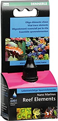 Dennerle Traitement de l'Eau pour Aquariophilie Nano Marinus Reefelements 15 ml