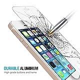 iPhone 5s/5/5c/SE Protection écran en Verre Trempé, Ukelove Film Protection, Trempé protecteur d'écran en verre pour iPhone 5s/5/5c/SE