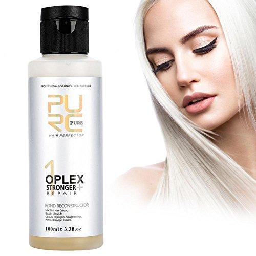 Bleach cheveux, traitement du cuir chevelu Redressant Colorant Renforcer l'outil de soins pour la décoloration des cheveux - 100ml