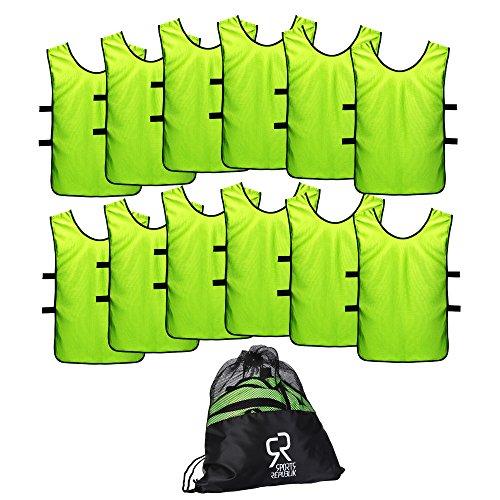 Sport Trikot Leibchen (12er Pack) - Fußball Trainingsleibchen